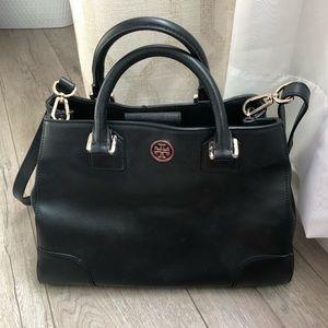 Authentic Tory Burch Handbag - black